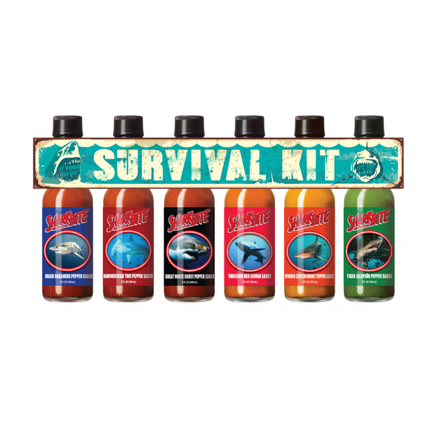 Sharkbite Survival Kit 6 Pack Gift Set