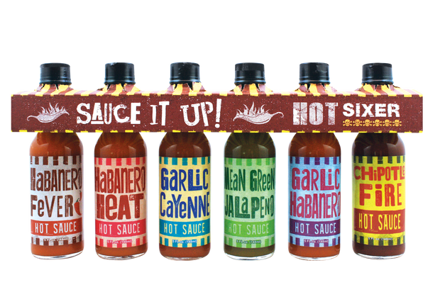 Hot Sixer – Hot Sauce 6 Pack