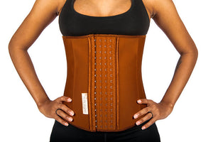 best latex nude waist trainer cincher