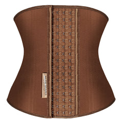 latex brown waist trainer