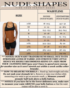 Classic Waist Trainer Natural - NUDE SHAPE Waist Trainers
