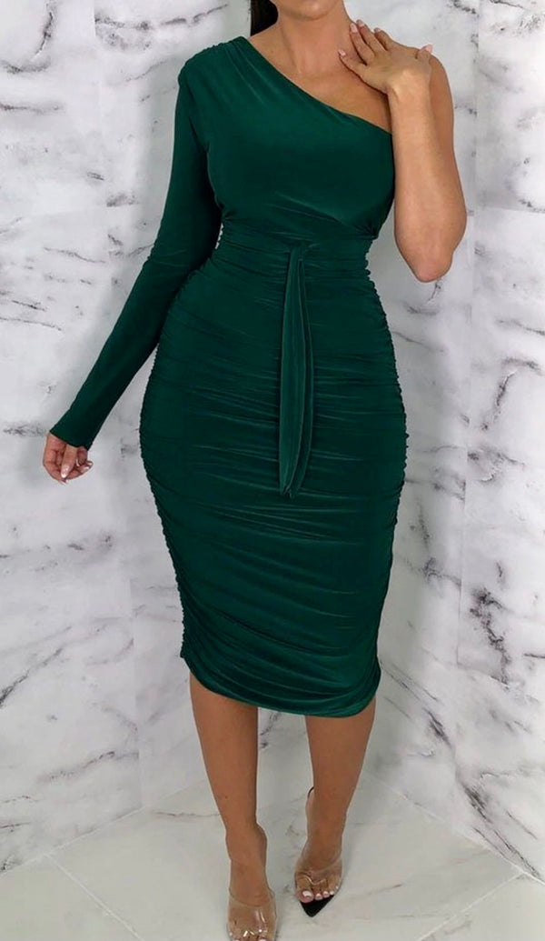 Emerald 'I'm His Wife' Dress - Lu'Ducci