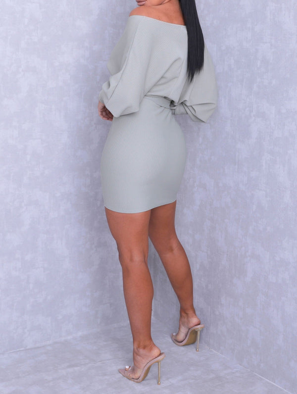 Sage 'Yerrr' Dress - Lu'Ducci