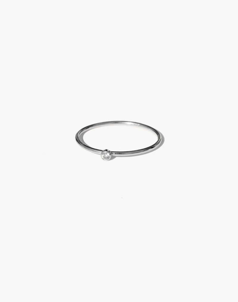 Luz Petite Ring - Sterling Silver