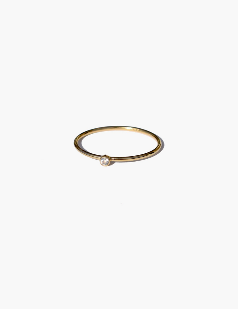 Luz Petite Ring - Gold Filled