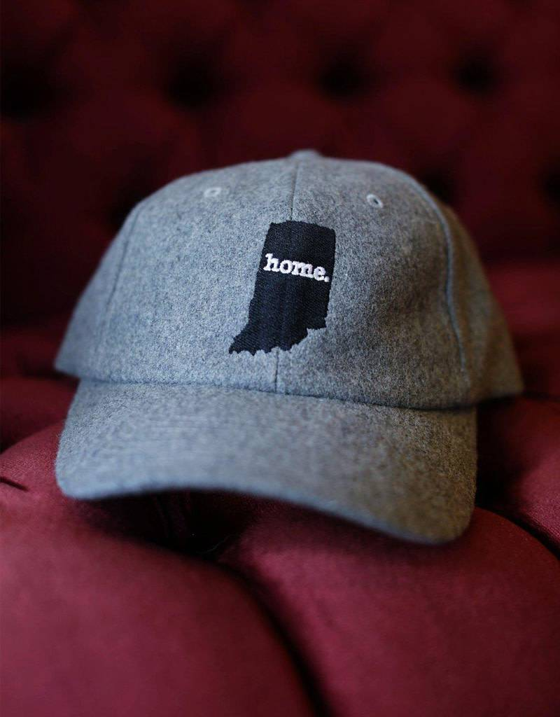 Indiana Grey Wool Hat