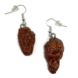 BBQ Chicken Wing Dangle Earrings