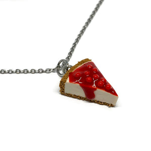 Cherry Cheesecake Necklace