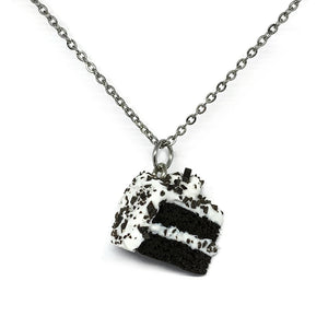 Cookies N Cream Cake Necklace