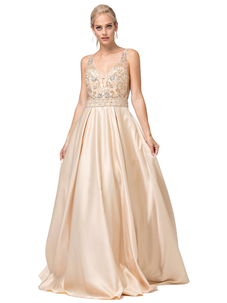 20A-19-2512-formal dress, bowl gown