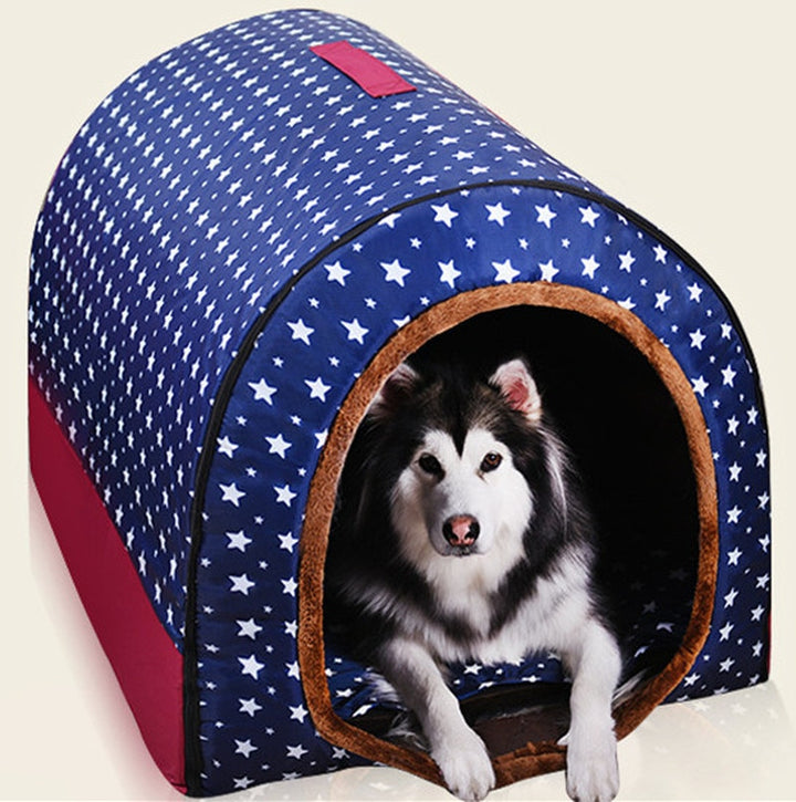 Washable Portable Dog House - Christokingg