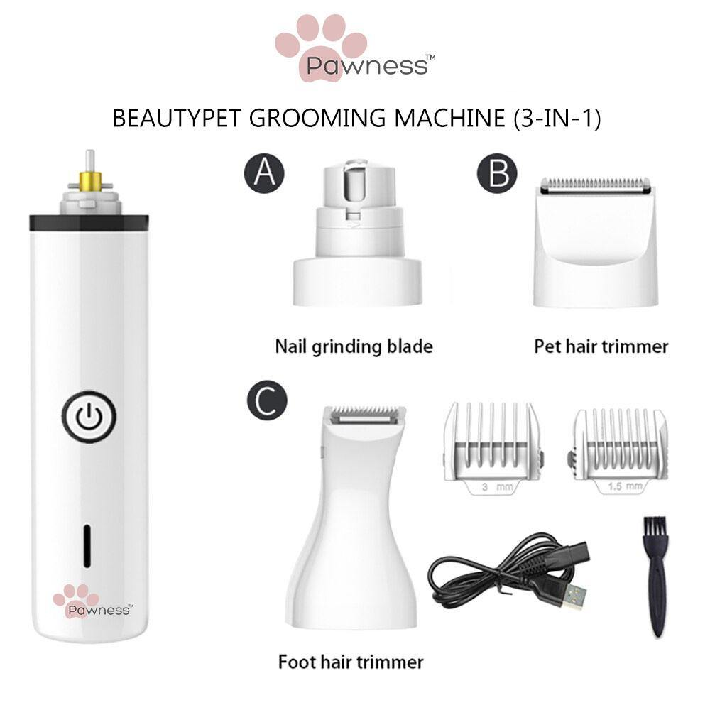 Pawness™ BeautyPet Grooming Machine (3-in-1) - Pawness