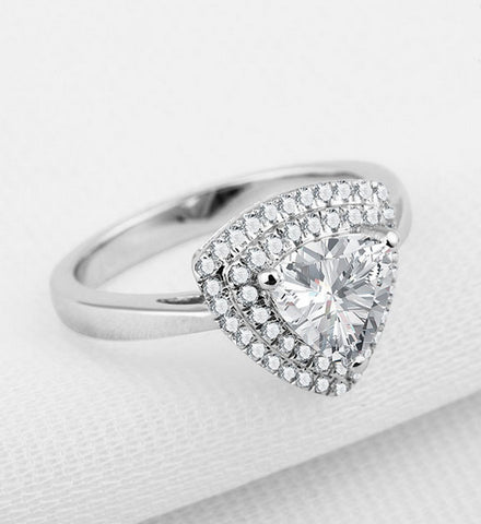 2CT my diamond wedding ring - MOWTE
