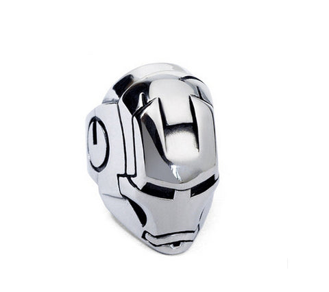 Men's fashion iron man ring - MOWTE