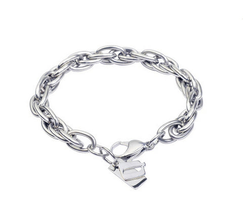 Men's fashion titanium steel bracelet - MOWTE