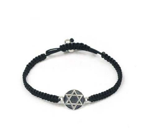Men's fashion weave hexagram bracelet - MOWTE