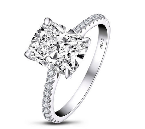 3ct princess cut diamond wedding ring