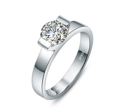 1CT SONA DIAMOND forever ring - MOWTE