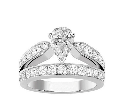 1CT my diamond wedding ring - MOWTE