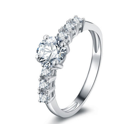 New fashion 1CT diamond engagement ring - MOWTE