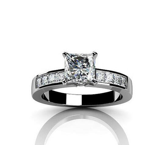 in rings princess platinum diamond build your cut ct ca ring set tw engagement own channel setmain