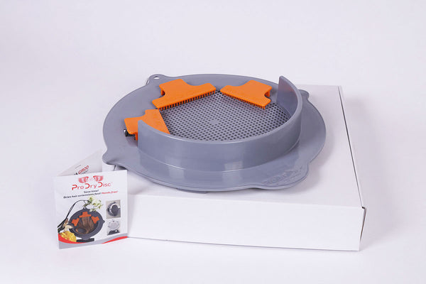ProDry Disc® Clips Included
