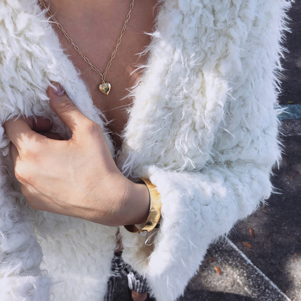 GOLD NECKLACE | VINTAGE LOVE