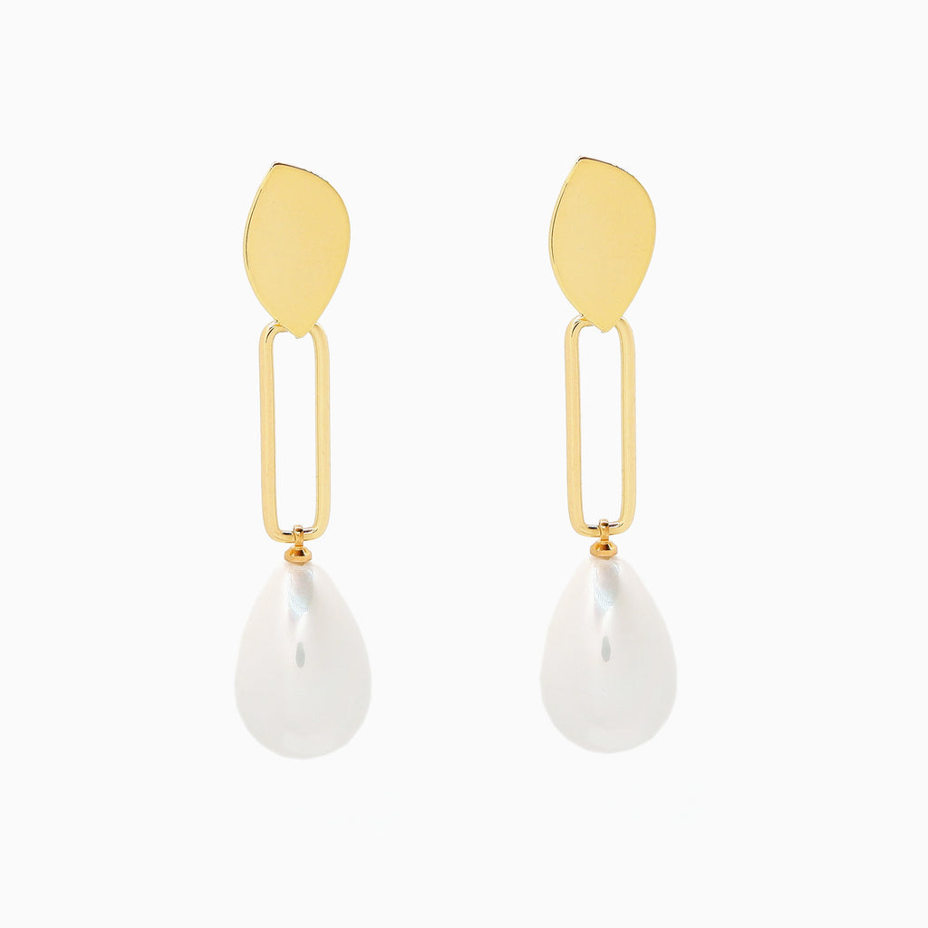 statement baroque pearl earrings