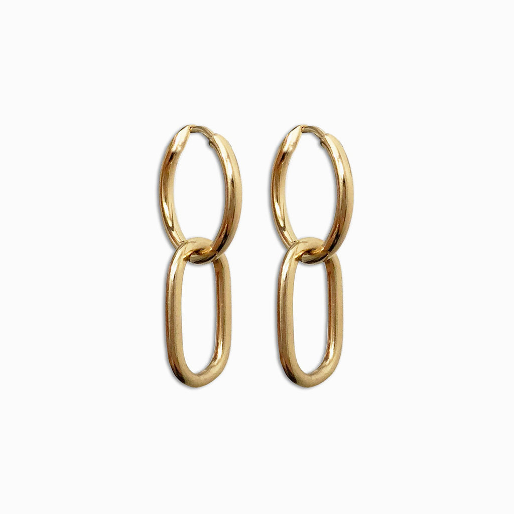 Gold Hoop Earrings | Cata