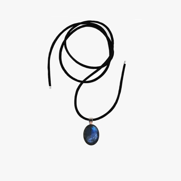 Blue Labradorite Choker Necklace