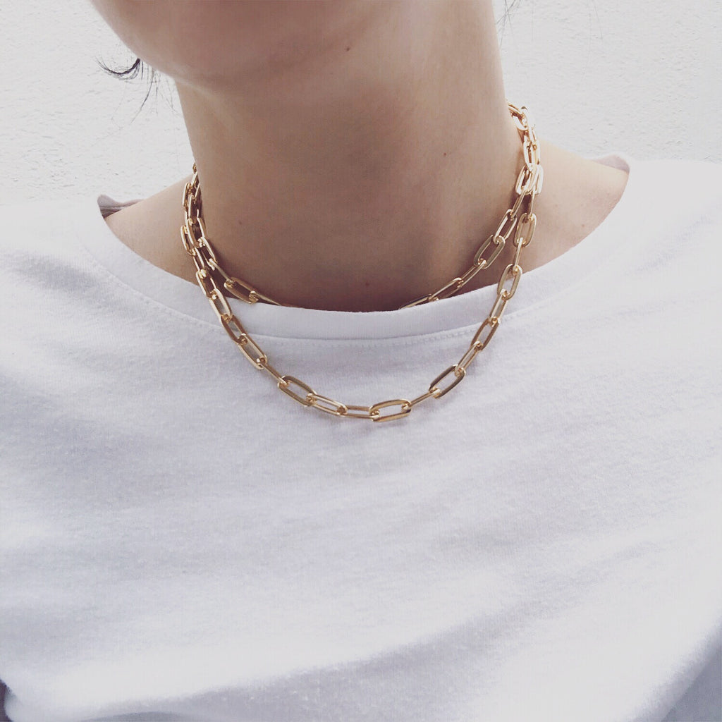 gold layered chain