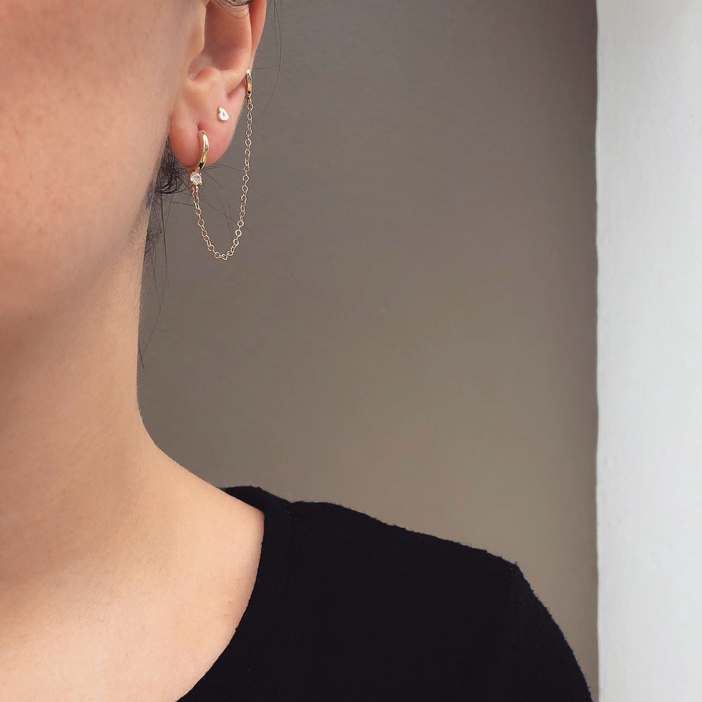 cartilage chain earring