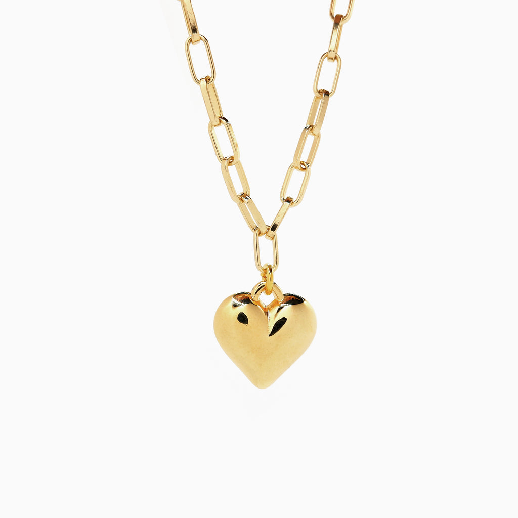 Gold Locket Necklace | Vintage