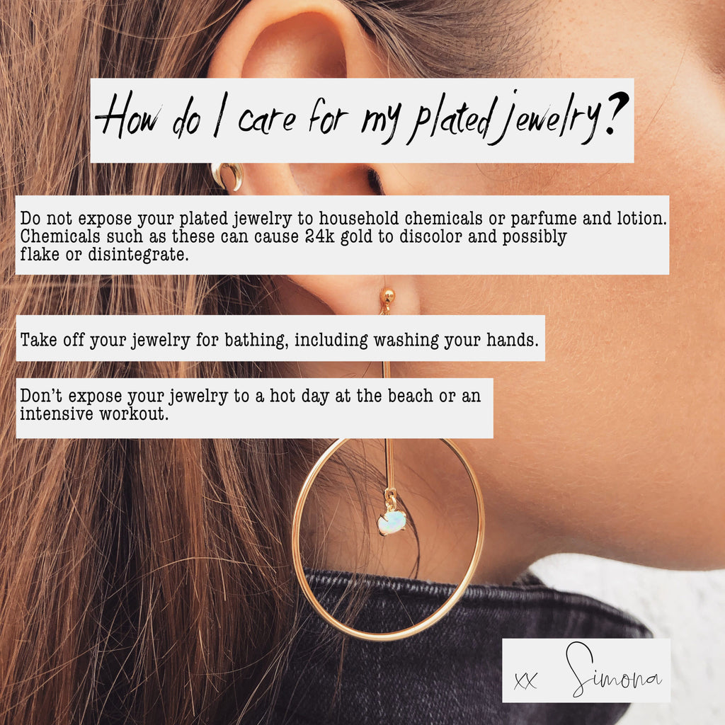 Gold Pearl Earrings | Zara