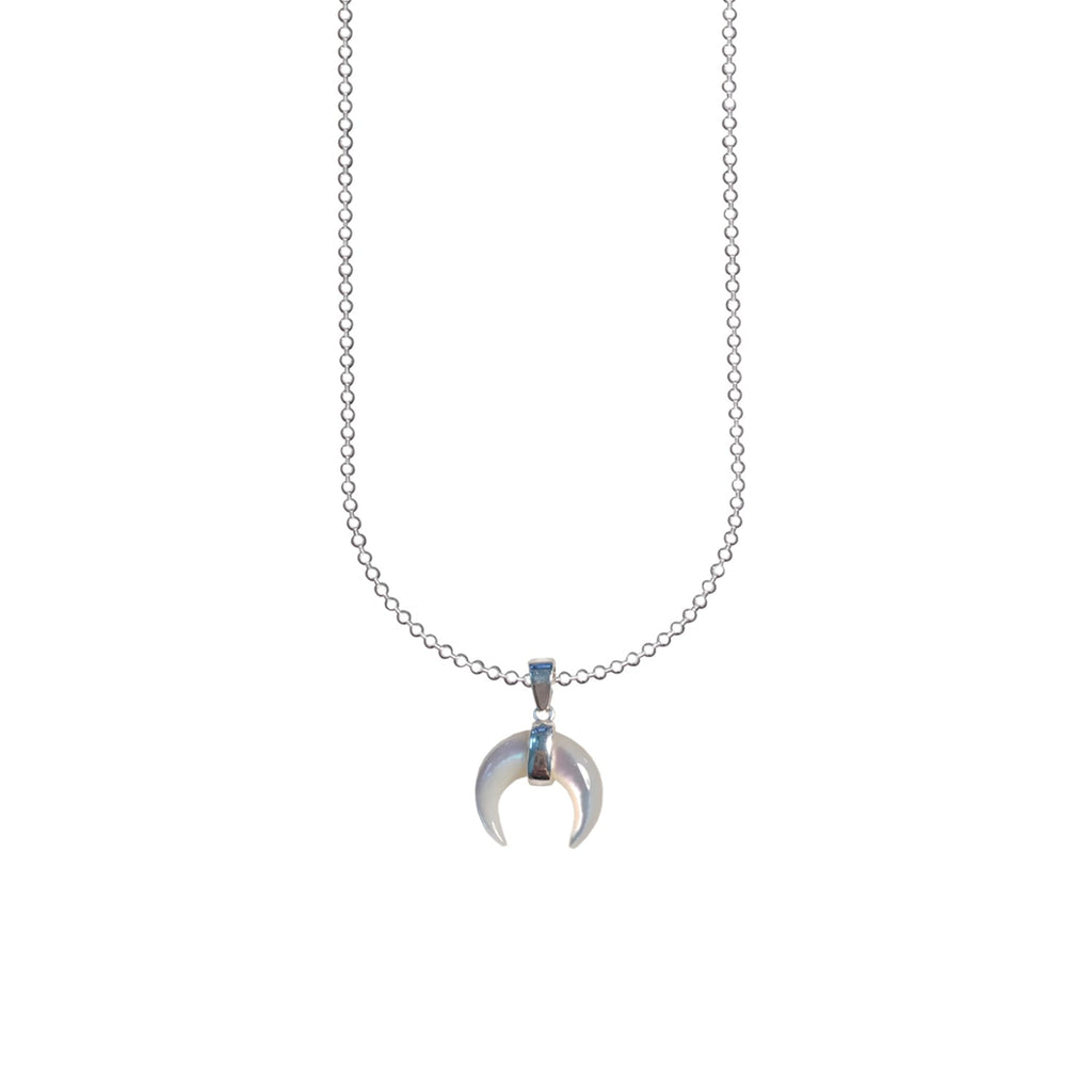 SMALL MOON NECKLACE | LUNA