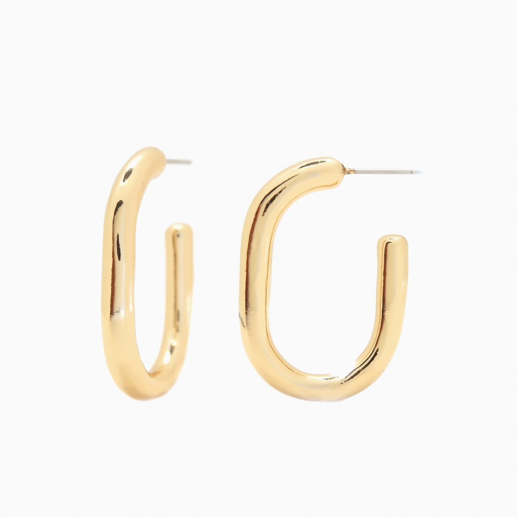 Gold Hoop Earrings | Dani