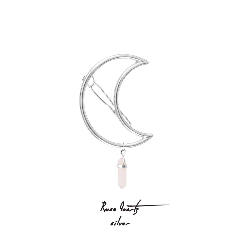 MOON PIN | HAIR ACCESSORY