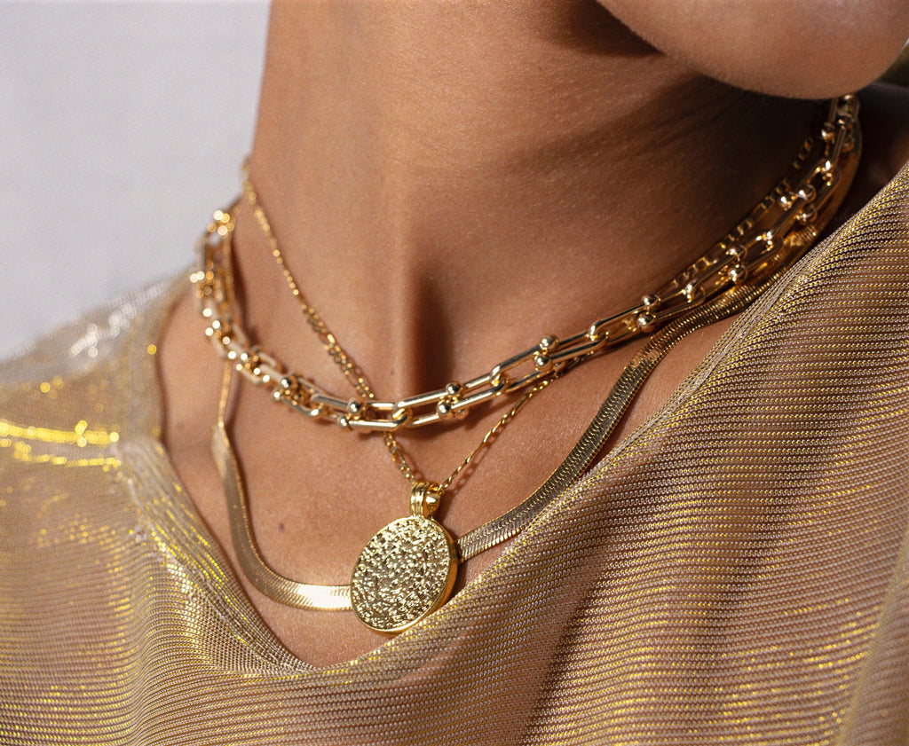 Thick Gold Necklace | London