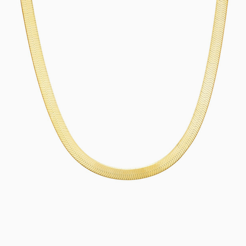 thick gold snake chain