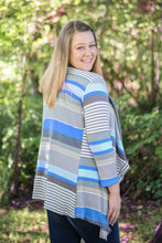Load image into Gallery viewer, Aurora Womens Cardigan Blue