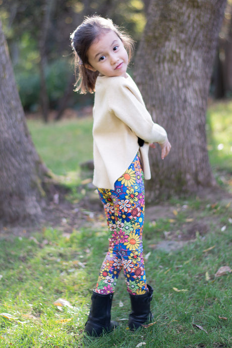 Girls Leggings Summer Prints