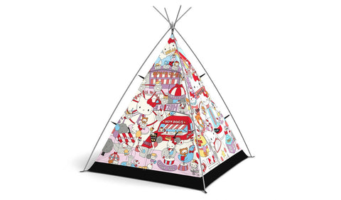 Hello Kitty Teepee Tent