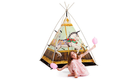 Hold Your Horses Teepee Tent
