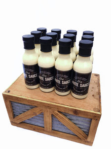 The White Sauce Sauce 12 pack: The White Sauce - 12 oz.
