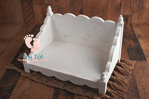 newborn photography bed prop photographers wooden