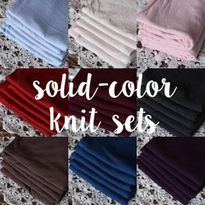 Choose Your Fabric | TuckWrap Sets – Solid Colors
