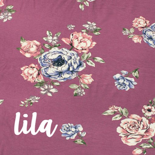 Barrel & Loop Wrap Set | Floral