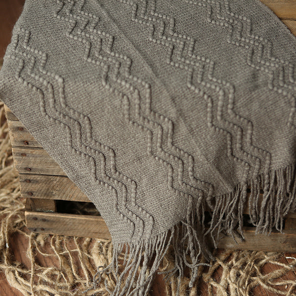 Layer | Taupe Sweater Blanket