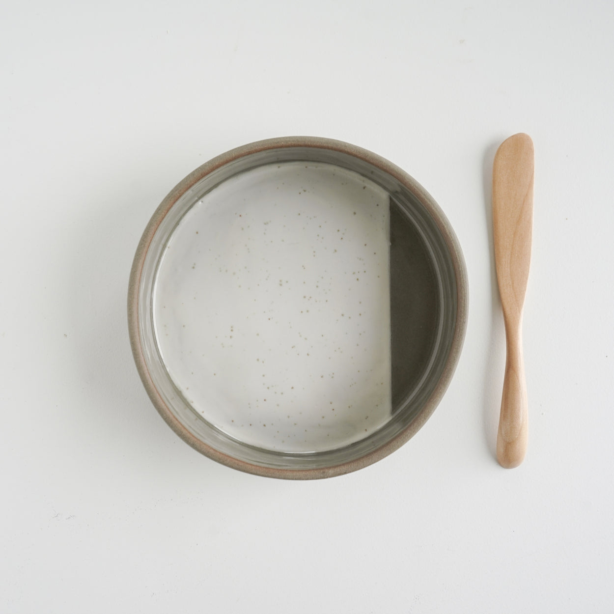Small Stripe Baking Dish