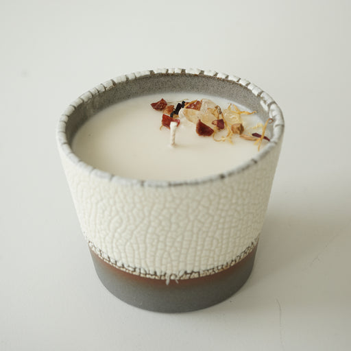 Candle Ceramic - Mango + Coconut